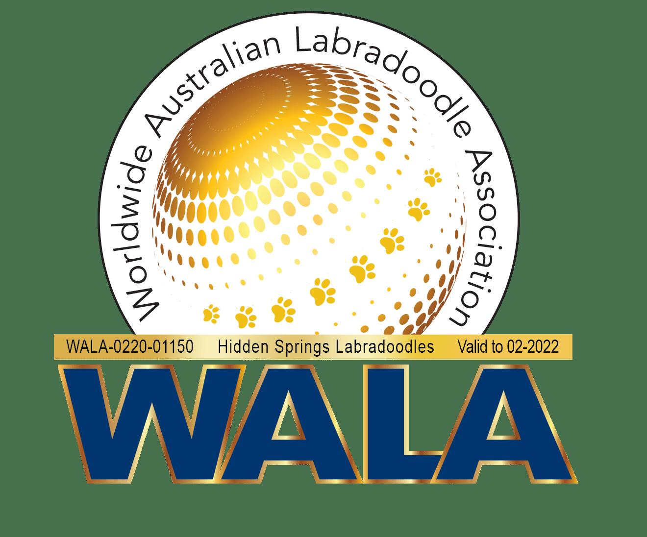 Hidden Springs WALA logo 2022